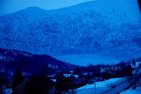 Myrkdalen, Voss the blue hour